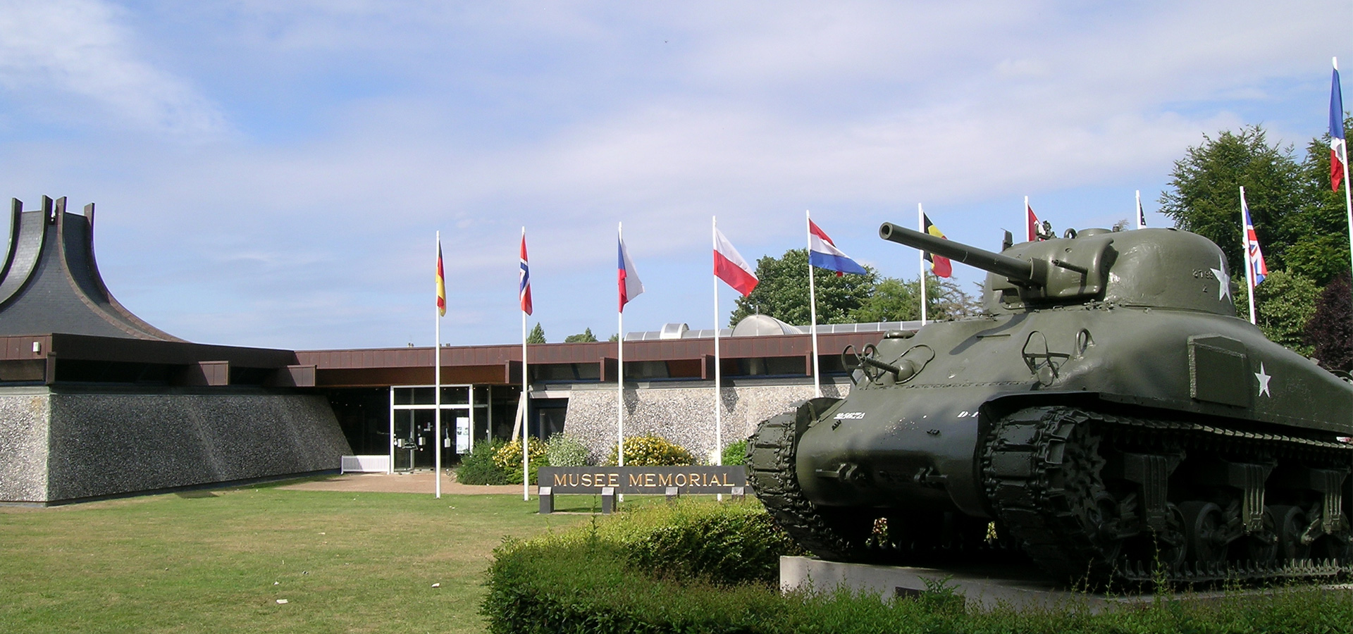 Memorial museum Batlle of Normandy