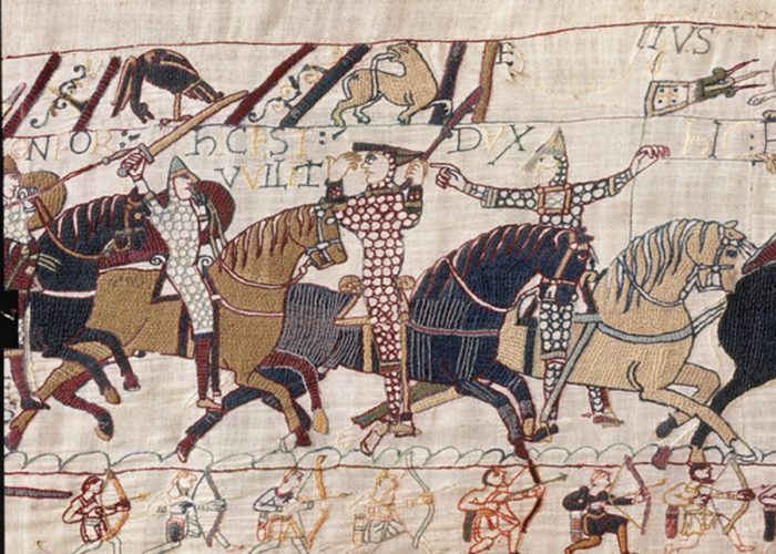 What is the Bayeux Tapestry about?