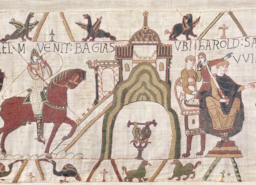 The history of the Bayeux Tapestry