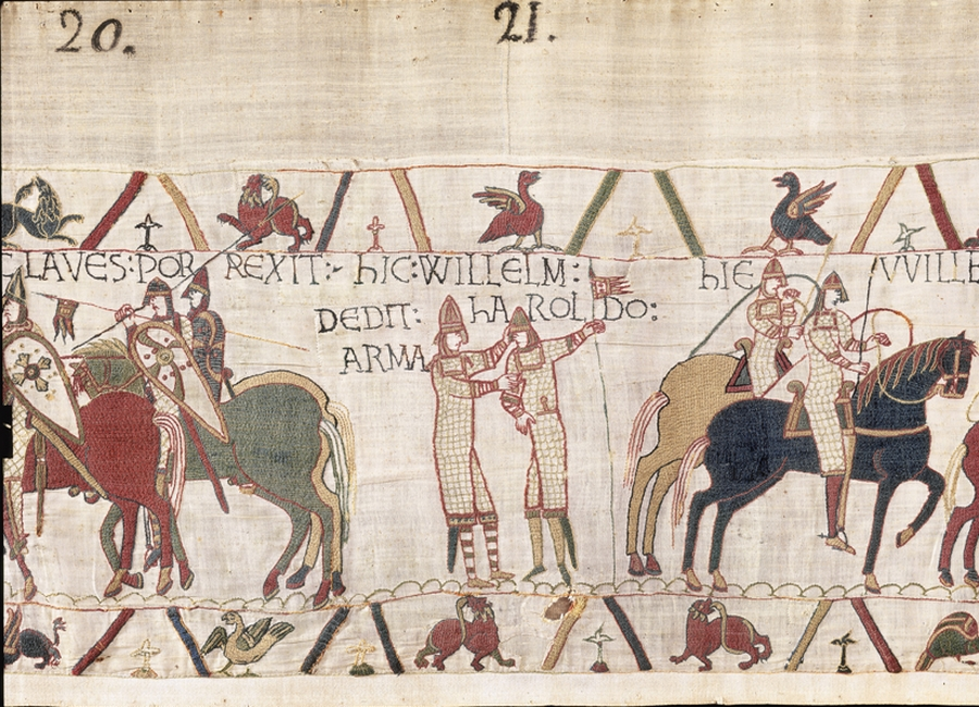 Characters in the Bayeux Tapestry