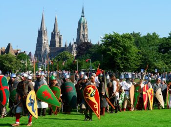 Bayeux Medieval Festival in July