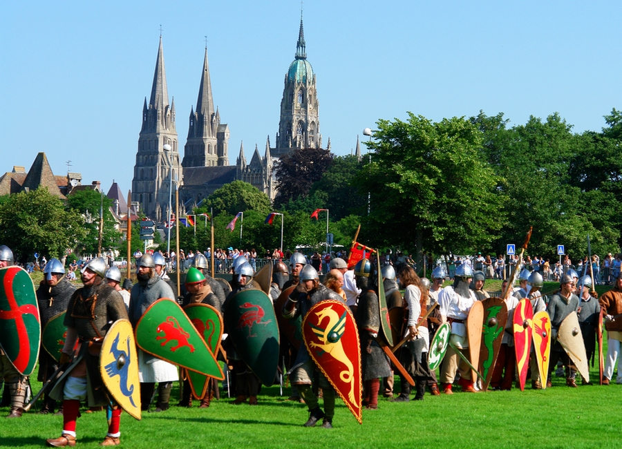 Major events in Bayeux