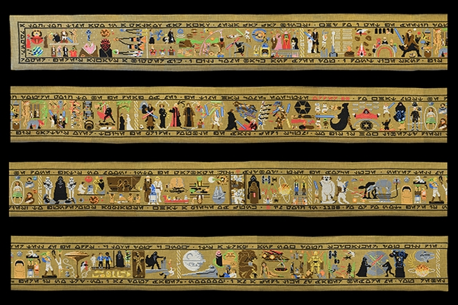 The Bayeux Tapestry every which way