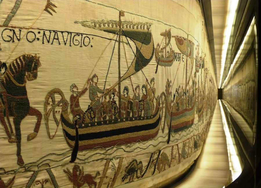 The Bayeux Tapestry over centuries