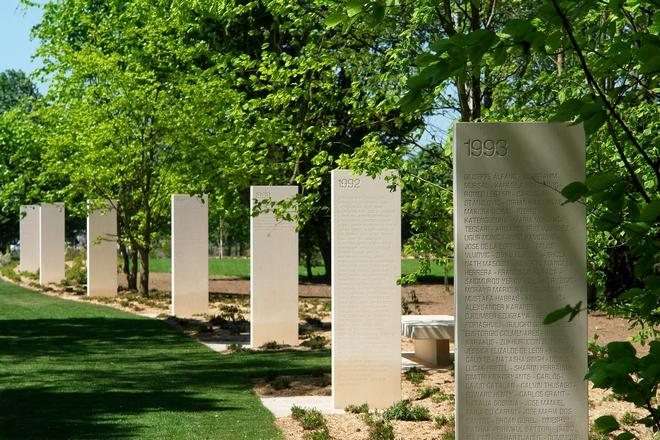 Memorial des reporters de guerre Bayeux
