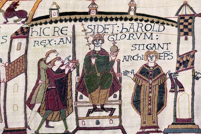 Harold, the Anglo-Saxon king