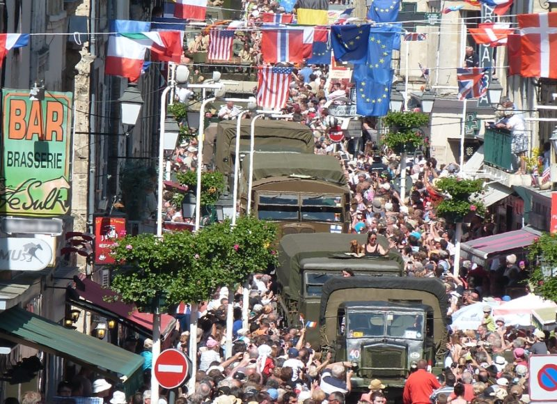 Remembrance tourism in Normandy
