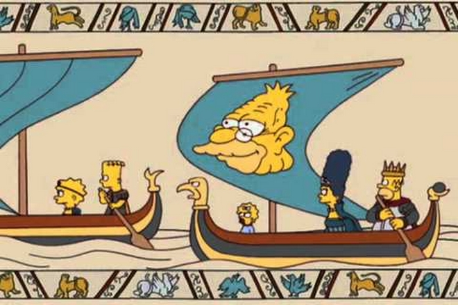 The Bayeux Tapestry in film and television culture