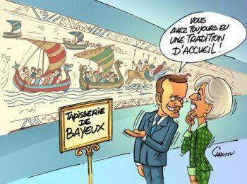 La Tapisserie de Bayeux est toujours à Bayeux !