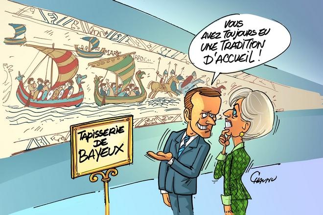 Le prêt de la Tapisserie de Bayeux au Royaume-Uni