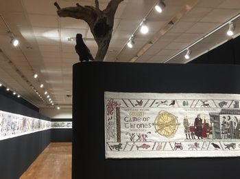 Game of Thrones Tapestry exhibited in Bayeux