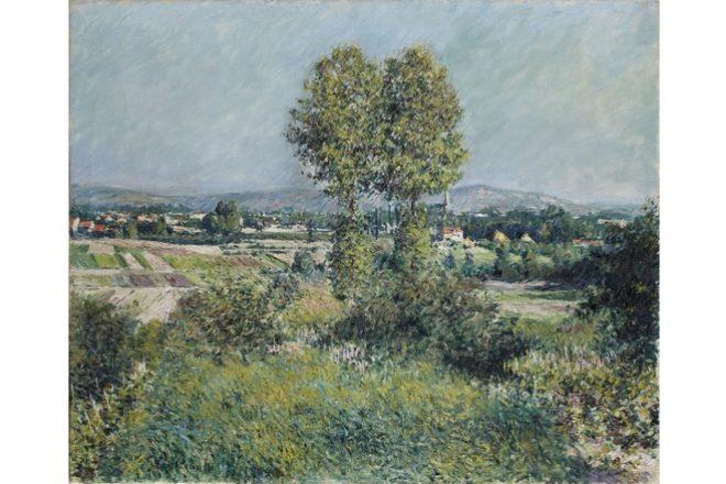 Paysage à Argenteuil 1889