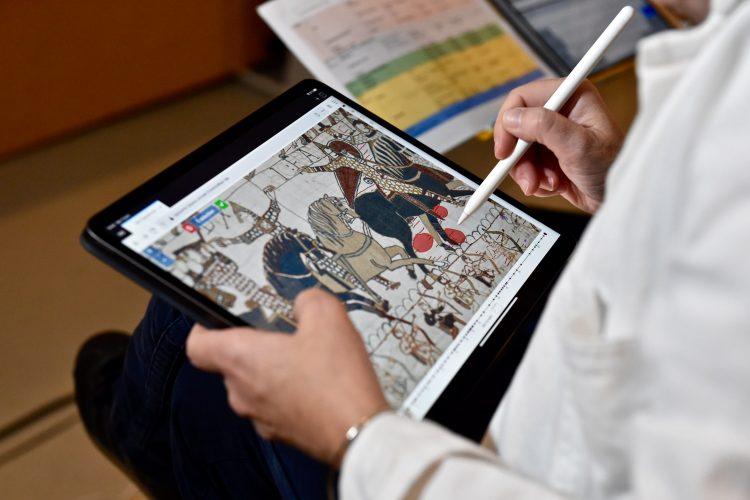 Tapisserie de Bayeux constat d'état