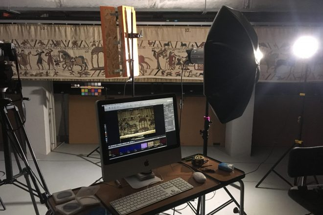 Imagerie numérique de la Tapisserie de Bayeux