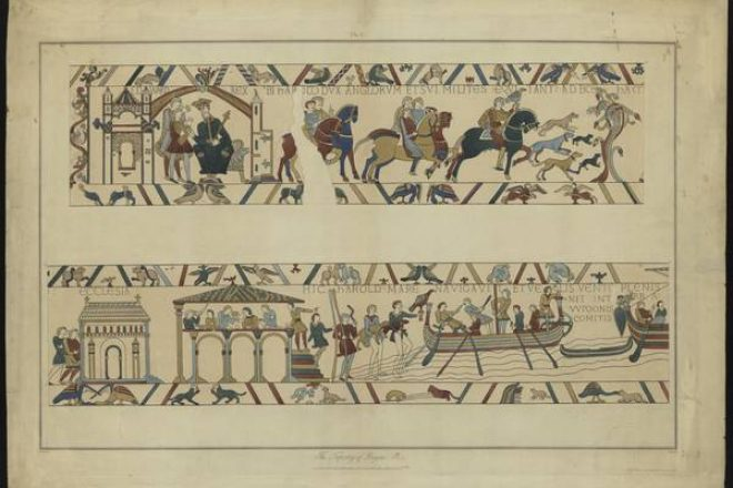 Stothard - The Bayeux Tapesrty 1819-1823