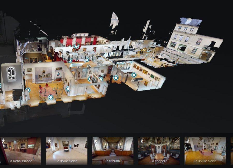 visite virtuelle MAHB Bayeux