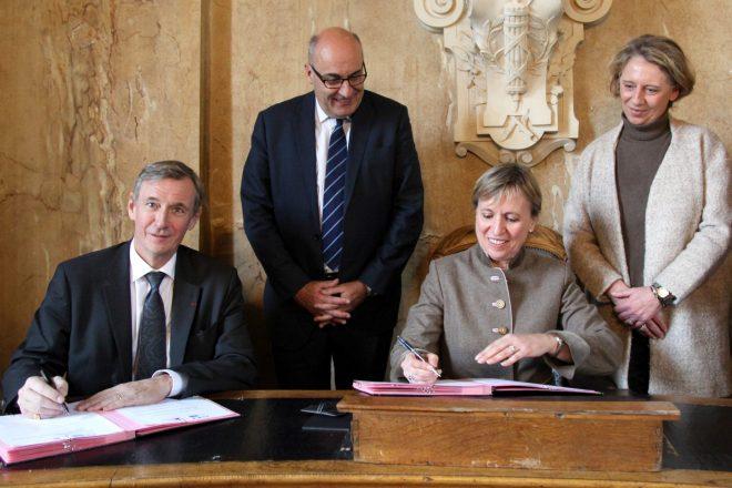 Convention de dépôt de la Tapisserie de Bayeux - 2017