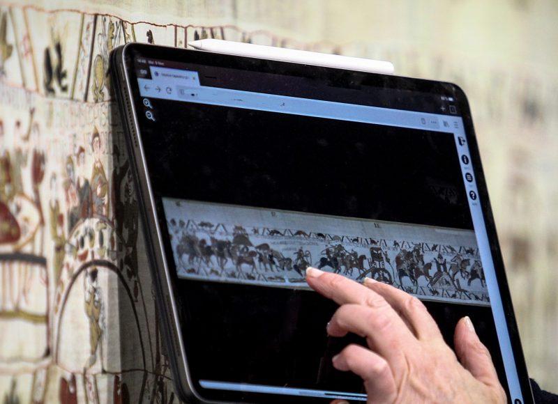 Tapisserie de Bayeux en entier