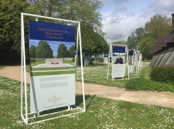 Exposition sur les cimetières militaires britanniques